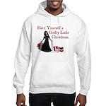 Gothy Little Christmas Hooded Sweatshirt