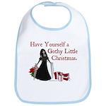 Gothy Little Christmas Bib