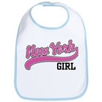 New York Girl Bib