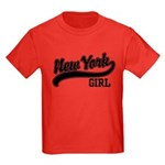 New York Girl Kids Dark T-Shirt