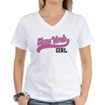 New York Girl Women's V-Neck T-Shirt