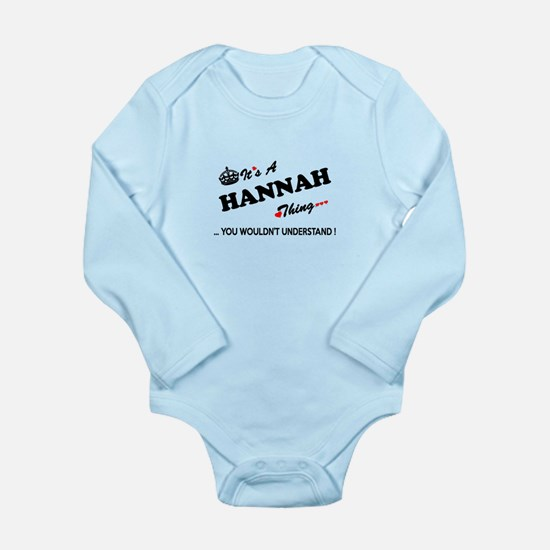 HANNAH thing, you wouldn't understand Body Suit