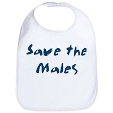 Save the Males Bib