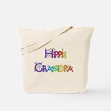 Hippie Grandpa Tote Bag