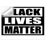 Black lives matter Wall Decals
