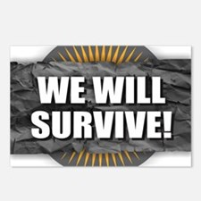We Will Survive Postcards (Package of 8)