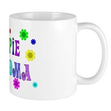 Hippie Grandma Small Mug