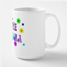 Hippie Grandma Large Mug