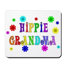 Hippie Grandma Mousepad