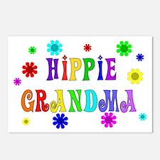 Hippie Grandma Postcards (Package of 8)