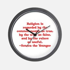 Religion is regarded by the c Wall Clock