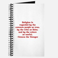 Religion is regarded by the c Journal