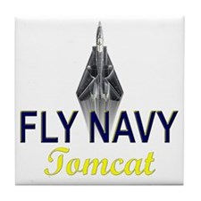 F-14 Tomcat Vertical Tile Coaster