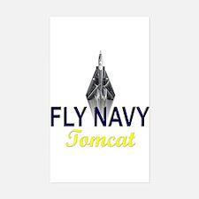 F-14 Tomcat Vertical Rectangle Decal