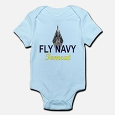 F-14 Tomcat Vertical Infant Bodysuit