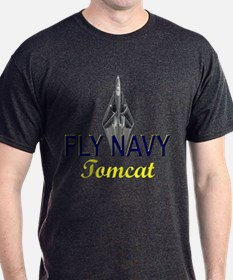 F-14 Tomcat Vertical T-Shirt