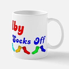 Kolby Rocks Socks (B) Mug