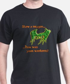 Slew a (Green) Dragon T-Shirt