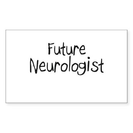 Future Neurologist Rectangle Sticker