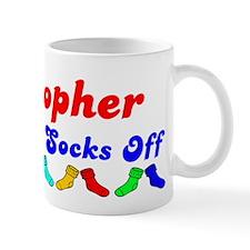 Kristopher Rocks Socks (B) Mug