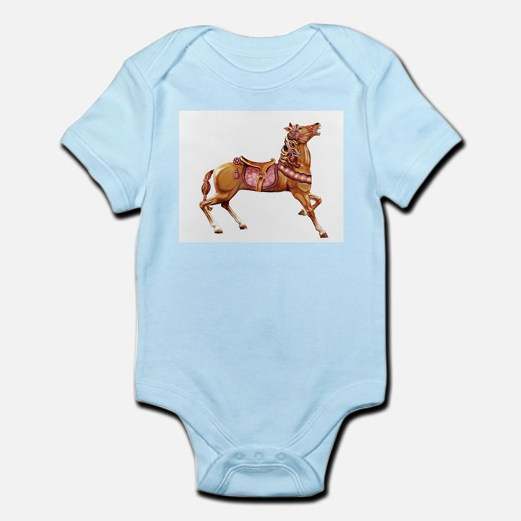 Carousel Horse Infant Creeper
