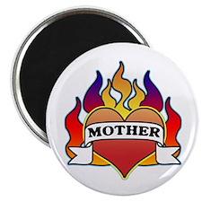 Mother Heart Tattoo Magnet