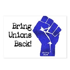 Bring Unions Back Postcards (Package of 8)