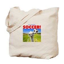 Play Soccer Tote Bag