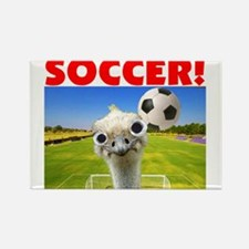 Play Soccer Rectangle Magnet