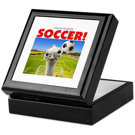 Play Soccer Keepsake Box