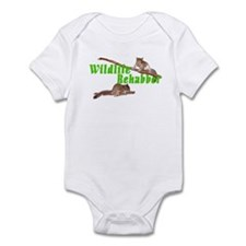 Wildlife Rehab Infant Bodysuit