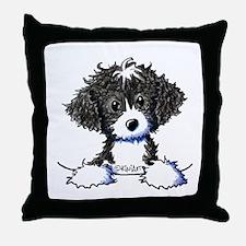 Cockapoo (Spoodle) Throw Pillow