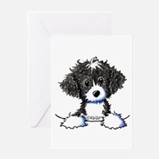 Cockapoo (Spoodle) Greeting Card