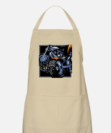 Motorcycle Collage BBQ Apron