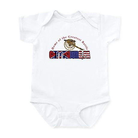 Gettysburg Infant Bodysuit