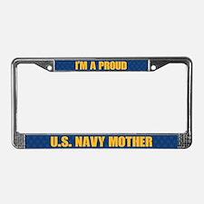 U.s. Navy Mother License Plate Frame