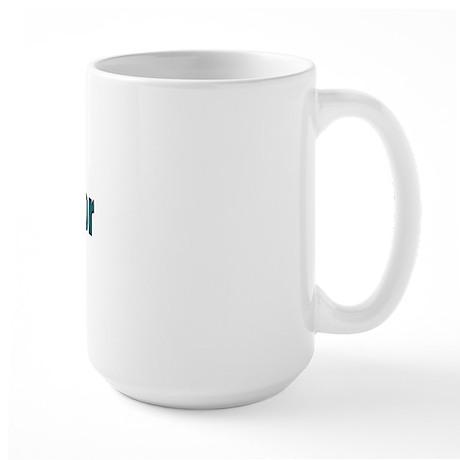 QRP Operator Large Mug