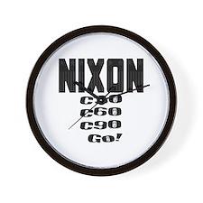 Nixon Watergate Wall Clock