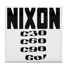 Nixon Watergate Tile Coaster