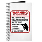 Warning To Terrorists Journal