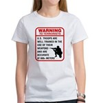 Warning To Terrorists Women's T-Shirt