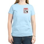 Warning To Terrorists Women's Light T-Shirt