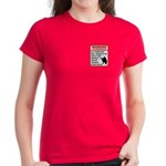 Warning To Terrorists Women's Dark T-Shirt