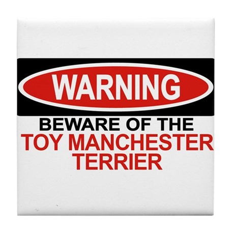 TOY MANCHESTER TERRIER Tile Coaster