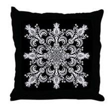 Fleur Meditation Throw Pillow