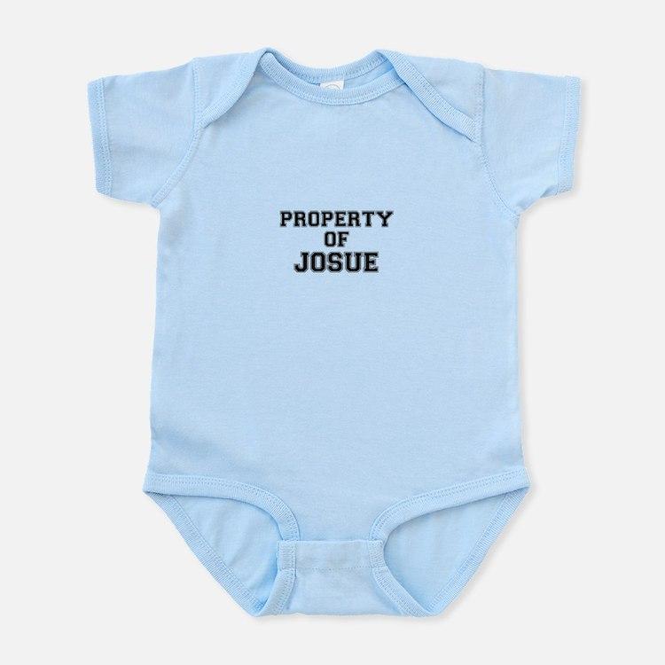 Property of JOSUE Body Suit