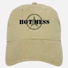 Hot Mess Baseball Baseball Cap