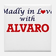 Madly in love with Alvaro Tile Coaster
