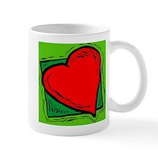 Love heart fertility Mug