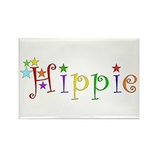Hippie Rectangle Magnet